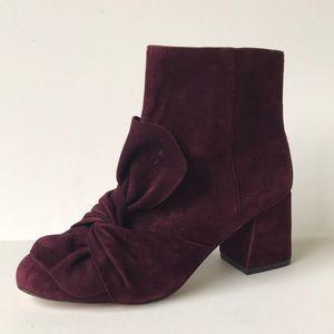 Rebecca Minkoff Suede Leather Bootie 7M